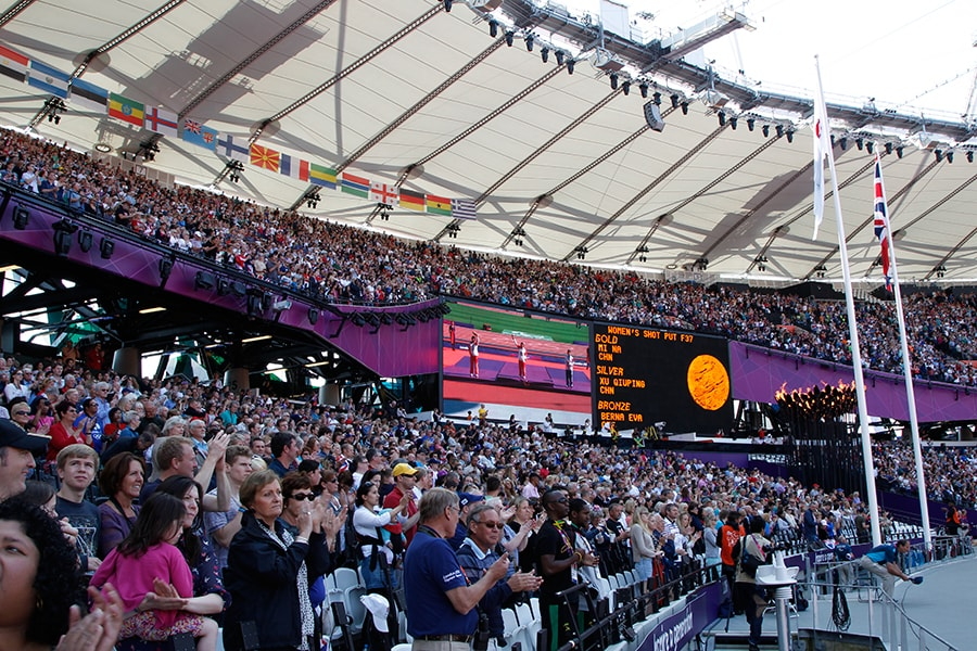 ロンドンパラ観戦チケットの売り上げ枚数は、鳥取県の人口(58.87万人)のなんと約5倍!