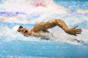 ロンドンパラリンピックで活躍した木村の泳ぎ