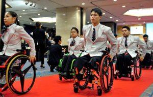 選手団最年少は17歳の鳥海連志(車椅子バスケットボール)