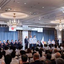 「今日からチームジャパン」リオパラリンピック日本選手団が結団式・壮行会