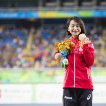 陸上競技400m銅メダルの辻沙絵。「会場に足を運んで、パラスポーツの面白さを感じて!」